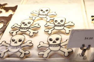Skeleton cookies - Duane Park Patisserie