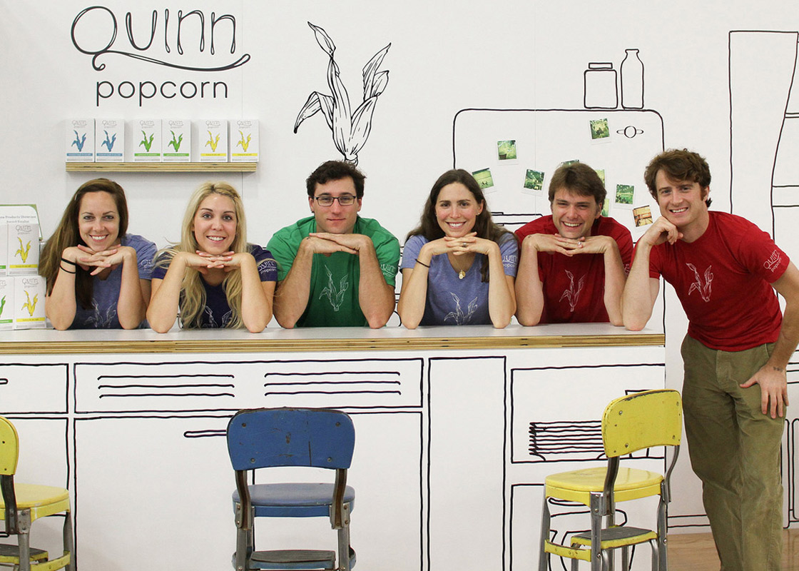 The Team at Quinn Popcorn