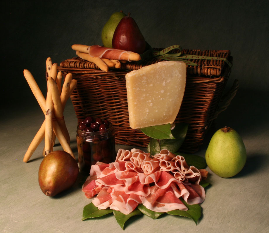 Prosciutto-hamper - father's day gift