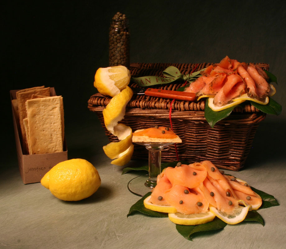 Smoked-Salmon-and-Gravlax--fathers day gift basket