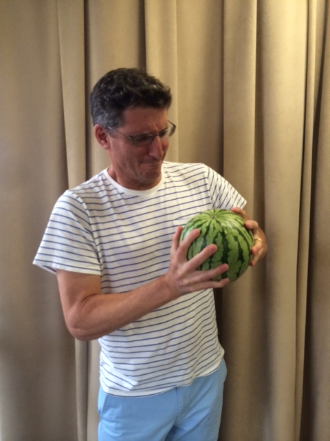 watermelon size