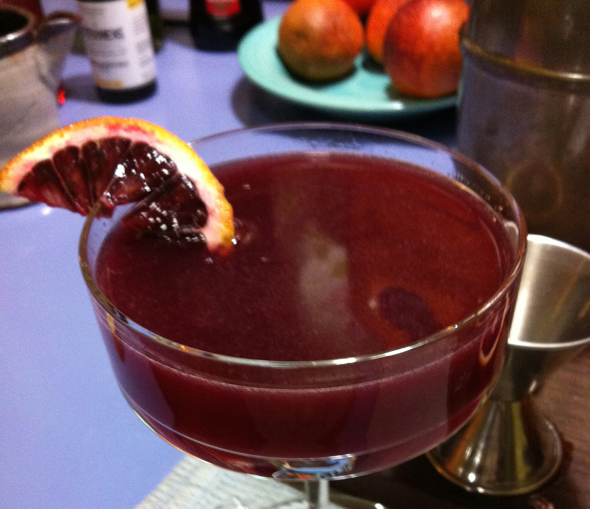 Blood Orange Cocktail 6