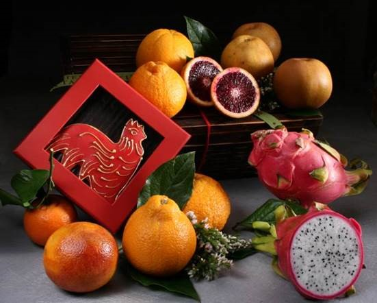 Chinese New Year Gift Basket from Manhattan Fruitier