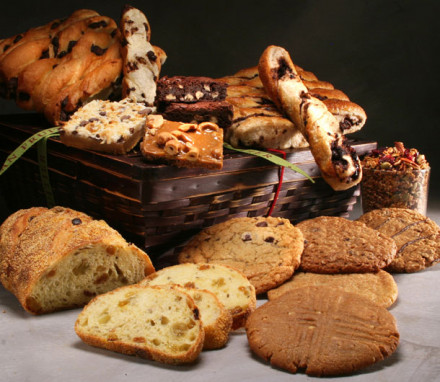 Bread and Sweets Basket Deluxe