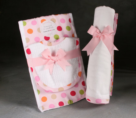 Pink Blanket Set