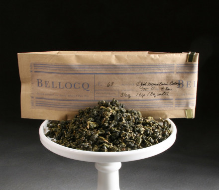 Organic High Mountain Oolong Green Tea