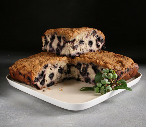 Blueberry Crumb Cake from Sweetleaf Bakery