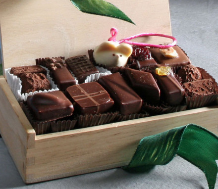 L.A. Burdick Handmade Chocolates (32 pc. wooden box)