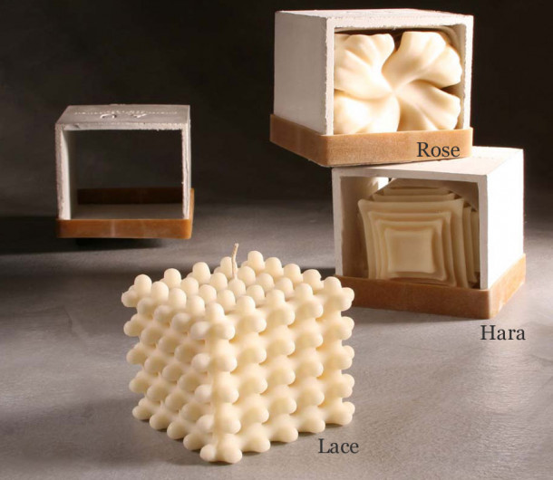 Andrej Urem Collection Soy and Beeswax Candle
