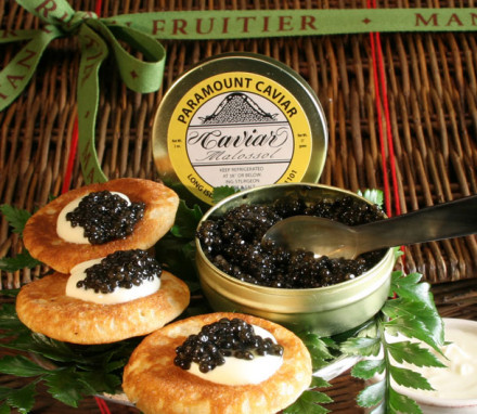 Caviar Chest  (4.4 oz. Osetra Caviar)