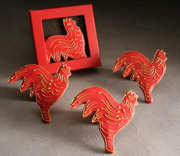 Rooster Cookies