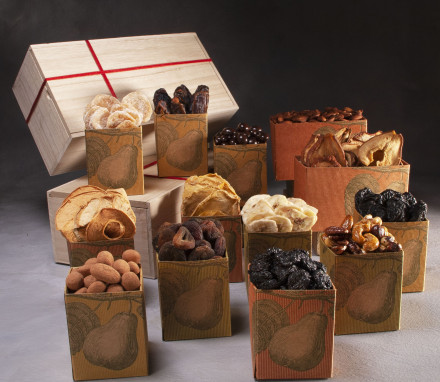 Dried Fruit, Nuts & Sweets Box (13 item) $165