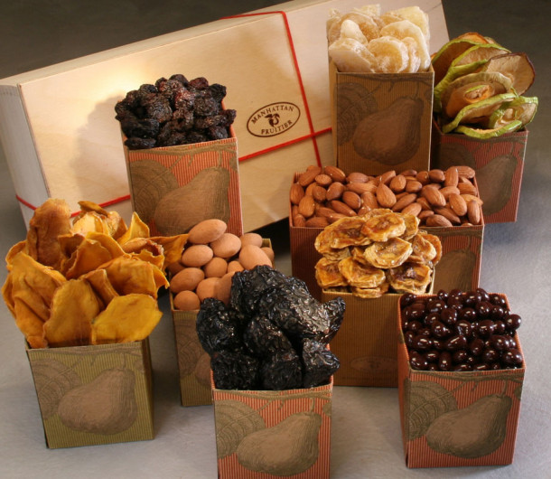Dried Fruit & Nut Gift Baskets Delivered | Manhattan Fruitier