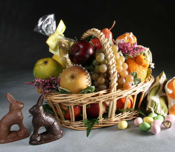 Gourmet easter fruit baskets delivered manhattan fruitier nyc only currently negle Images