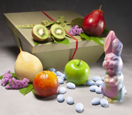 Eggs-ellent Easter Bunny Basket $78