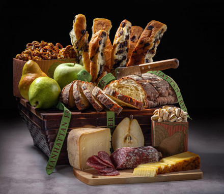Savory Sampler Basket $110