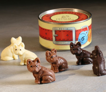 French Bulldog Chocolates