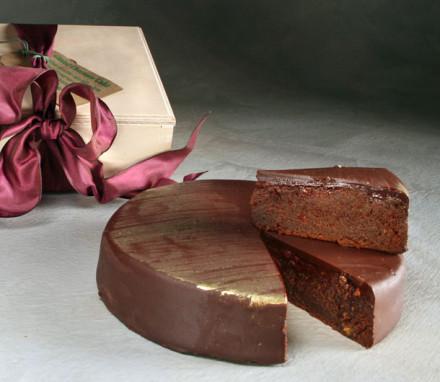 Gilded Chocolate Cake