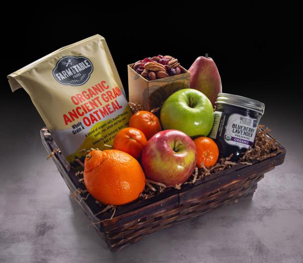 Good Morning Organic Basket $68