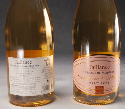 Jaillance Cremant De Bordeaux Brut Rose $32
