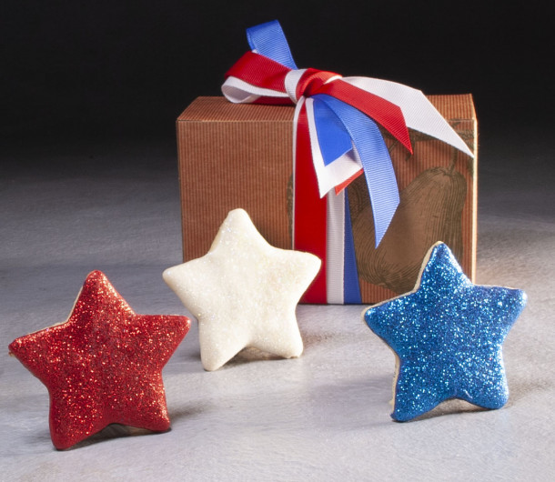 Fourth of July Cookie Box $16