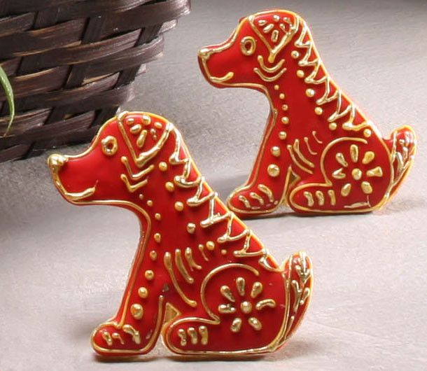 Year of the Dog Cookies