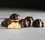 Coconut Macaroons dipped in chocolate approx. 10-12 pieces (Schick's  Kosher for Passover - OU - Parve)