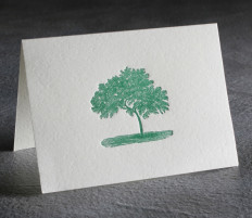 All Occasion Letterpress Card $10
