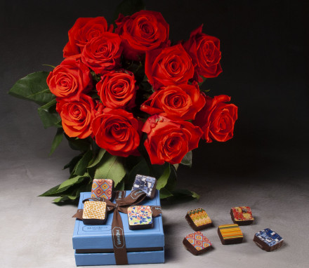 Roses and Jewel Box Bonbons