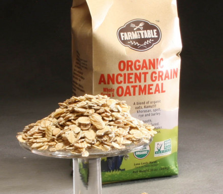 Ancient Grain Oatmeal from Farm to Table