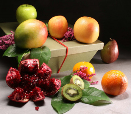 Organic York Hamper -- All Fruit (6 lbs)