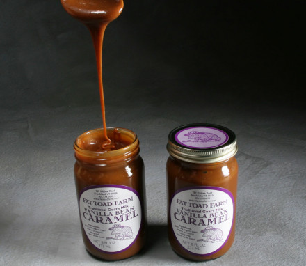 Goats' Milk Caramel Sauce from Fat Toad Farm