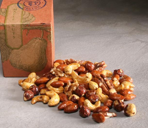 Organic Maple Glazed Nuts