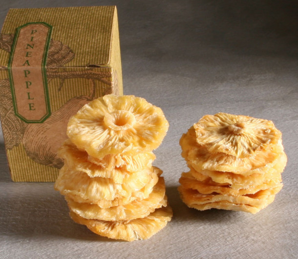 Dried Organic Pineapple Rings