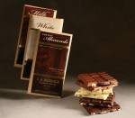 Chocolate Nut Bar Trio (dark, milk, white)