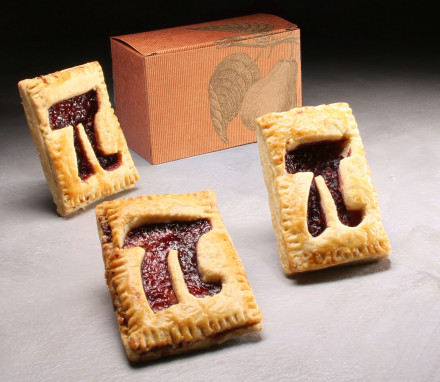 Raspberry Hand Pi Pie Trio