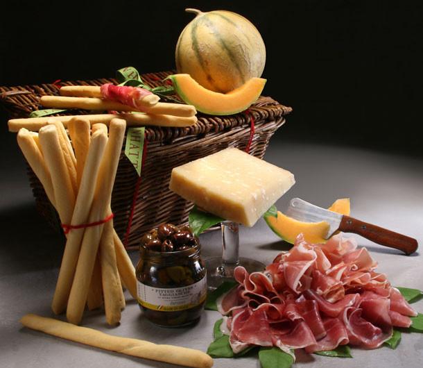 Prosciutto & Parmigiano Basket