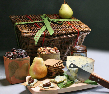 Stilton and Pears with Port