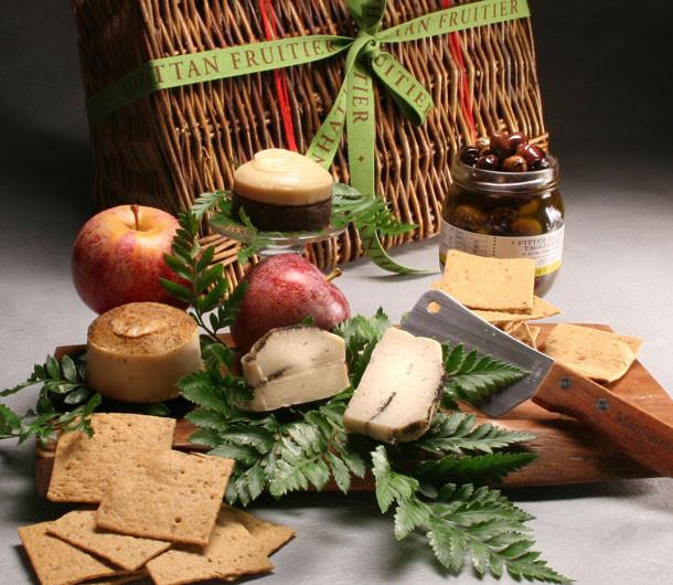 Vegan Cheese Basket