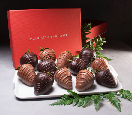 Belgian Chocolate-Dipped Strawberries