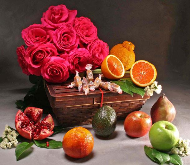 Three Part Harmony Alto Red Roses