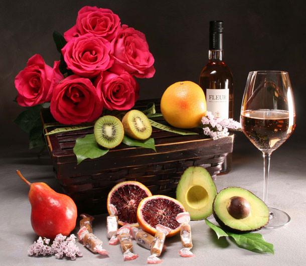 Three Part Harmony with Wine