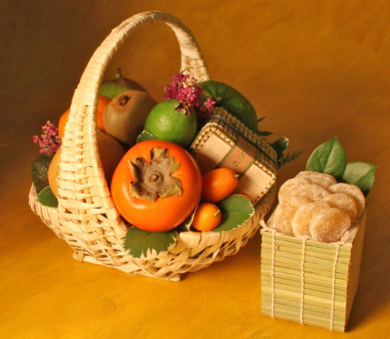 Tropical Fruit Basket 1