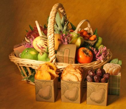 Tropical Fruit Basket 5