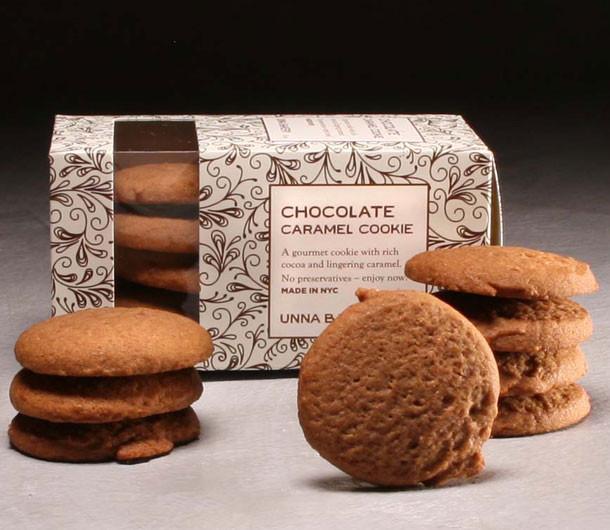 Organic Chocolate Caramel Cookies