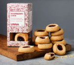 Organic Raspberry Cave Cookies by Unna Bakery