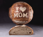 I Love Mom Sourdough Boule  (Available for delivery April 27 - May 8)
