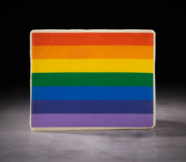 Pride Rainbow Cookie $14
