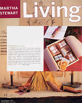 Manhattan Fruitier in Living Magazine